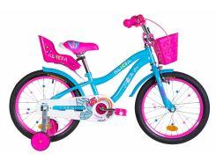 """Велосипед ST 18"""" Formula ALICIA рама-9,5"""" голубой с крылом St 2020 (OPS-FRK-18-062)"""