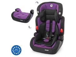 Автокресло El Camino Junior ME 1008 2в1 Black-Purple (ME 1008 PURPLE)