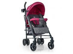 Коляска детская ME 1029 BREEZ Pink, серо-розовая, прогулочная