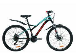 """Велосипед ST 26"""" Formula DRIFT AM DD рама-16.5"""" черно-белый (м) с крылом Pl 2020 (OPS-FR-26-393)"""