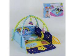 Коврик для младенца 127-22 (12) 5 мягких подвесок, в коробке