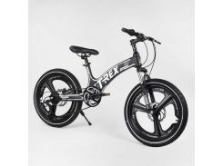 Детский спортивный велосипед 20'' CORSO «T-REX» 28387 (1) магниевая рама, 7 скоростей, собран на 75