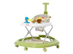 Детские ходунки CARRELLO Eterno CRL-9607 Olive 3 в 1