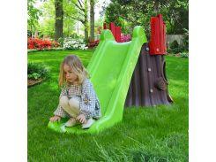 Детская горка 72-984 TREE HOUSE, зеленая