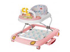 Детские ходунки CARRELLO Premio CRL-9608 Rose 3 в 1