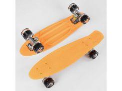 Скейт Пенни борд 2325 (8) Best Board, СВЕТ, доска=55см, колёса PU d=6см (99615)
