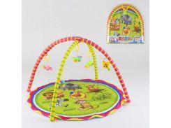 Коврик для младенцев 008 (24) 5 подвесок-погремушек, в сумке