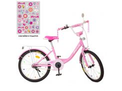 Детский велосипед PROFI 20д. XD2011 Princess, розовый