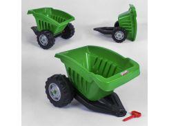 Прицеп для педального трактора Pilsan 07-317 (1) ЗЕЛЁНЫЙ