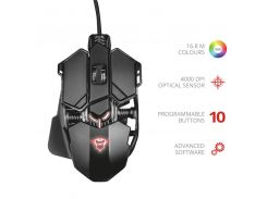 Мышь Trust GXT 138 X-Ray Illuminated gaming mouse