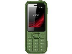 Мобильный телефон Ergo F248 Defender Dual Sim (зеленый)