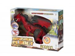 Динозавр Same Toy Dinosaur Planet Дракон красный со светом и звуком RS6169AUt