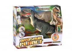 Динозавр Same Toy Dinosaur Planet зеленый со светом и звуком RS6128Ut