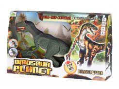 Динозавр Same Toy Dinosaur Planet серый со светом и звуком  RS6134Ut
