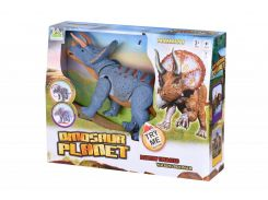 Динозавр Same Toy Dinosaur Planet серый со светом и звуком RS6167AUt