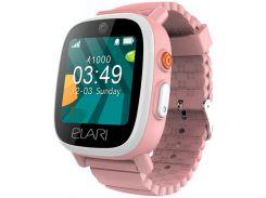 Детские часы-телефон Elari с GPS/LBS/WIFI трекером FIXITIME 3 Pink (ELFIT3PNK)