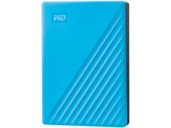 Жесткий диск внешний WD My Passport 4TB USB 3.2 Blue (WDBPKJ0040BBK-WESN)