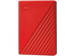 Жесткий диск внешний WD My Passport 4TB USB 3.2 Red (WDBPKJ0040BRD-WESN)