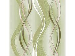 Обои бумажные Континент Риана зеленая 1113