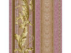 Обои бумажные Континент Версаче бордовый 1223