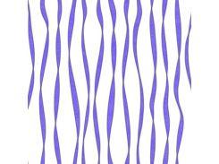 Обои бумажные Континент Акцент  белый фон фиолетовые полосы с серебром 1343