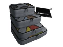 Комплект дорожных органайзеров для путешествий Shacke Pak (Серый) (SP001)