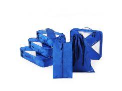 Комплект дорожных органайзеров для путешествий P.travel, синий (PT106)