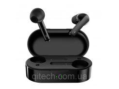 Беспроводные Bluetooth наушникиQCY T3 Black|наушники вкладыши с сенсорным управлением|цветчерный (T3)