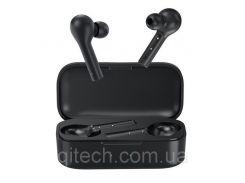 НаушникиQCY T5|наушники вкладыши беспроводные Bluetooth с сенсорным управлениеми активным шумоподавлением