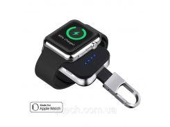 Портативный аккумулятор Qitech Key Bank Powerbank брелок для зарядки Apple Watch Черный