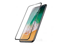 Защитное стекло Baseus Screen Protector Full Screen для iPhone XS Max Black (SGAPIPH65-TN01)