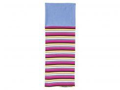 Снуд Lupilu 70х50см голубой цветные полоски 301419