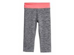 Капри спортивные H&M 134 140см серый меланж 6404657