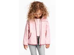 Куртка H&M 116см розовый сердечки 4929456
