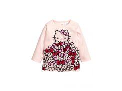 Лонгслив H&M 80см розовый 3315662