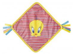 Игрушка для объятий Looney Tunes 210х210мм розовый полоска 302478