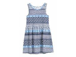 Сарафан H&M 92см сине белый 5538737