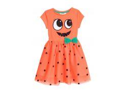 Платье H&M 122 128см оранжевый 75383746