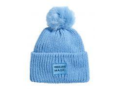 Шапка H&M 134 152см голубой 75468077