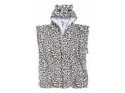 Банное полотенце H&M 60х70 см белый леопард 83579643