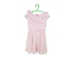 Платье H&M 98 104см бело красный полоска 2115129