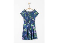 Платье s.Oliver 164см сине зеленый 66805822808