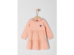 Платье s.Oliver 74см персиковый 65811825039