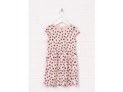 Платье H&M 98 104см пудровый горох 4786755