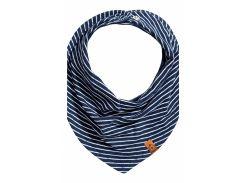 Косынка H&M One Size темно синий полоска 3925194
