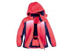 Лыжная куртка Crivit 146 152см розово синий 283917