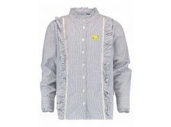 Блуза Vingino 128см сине белый 1822005