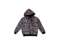 Куртка Marions 140см серо черный 5017