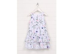 Платье H&M 92см белый цветы 4850906
