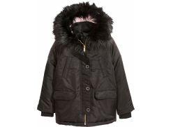 Куртка H&M 164см черный 5077476